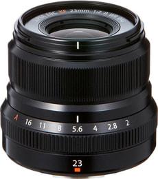Fujinon XF 23mm F2 R WR schwarz