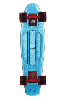 """Candy Board 22"""" blau transparent"""