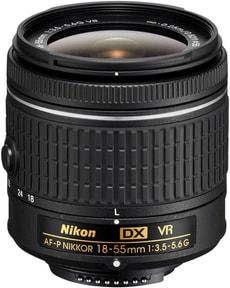 Nikkor AF-P DX 18-55 1:3,5-5,6G VR Objektiv