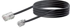Cable pour modem 3m noir