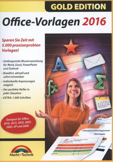 PC Gold Edition: Office Vorlagen 2016