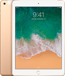 iPad LTE 32GB gold