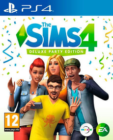 PS4 - The Sims 4 - Deluxe Party Edition