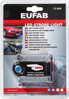 Led-Strobe-Light bleu