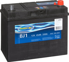 Autobatterie BJ1 12V 45Ah 330A