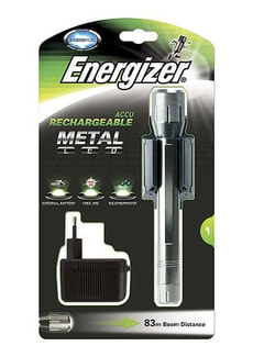 TASCHENLAMPE RECHARGEABLE METAL LED