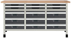 Werkbank No. 1 1610 x 650 x 860 mm 8075