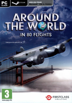 PC - Around The World In 80 flights (Flight Simulator X & STEAM)