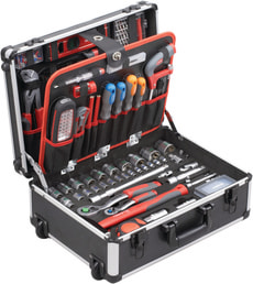 MEISTER Profi trolley outils 156 pc.