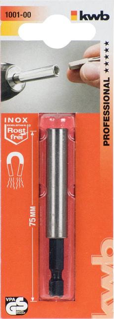 INOX Porte-embouts, douille en acier inox