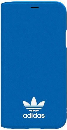 Booklet Case blau/weiss
