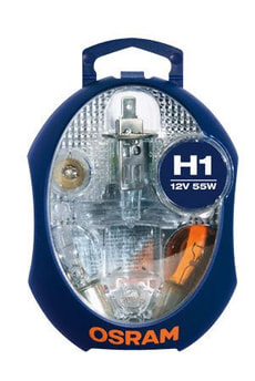 Ampoule Jeu d'ampoules H1