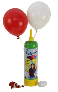 Helium Set Ballooner Swiss Edition