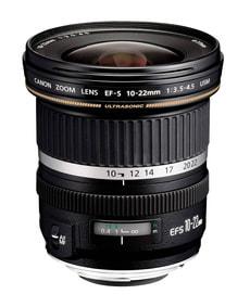 EF-S 10-22mm 3.5-4.5 USM  Objectif