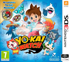 3DS - YOKAI WATCH (Special Editinkl. Medaille)
