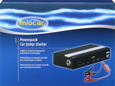Powerpack Car Jump-Starter