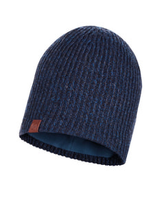 KNITTED & POLAR HAT LYNE NIGHT BLUE