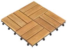 Dalle en bois eucalyptus