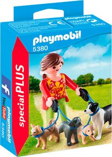 Playmobil Special Plus Eleveuse de chiens  5380