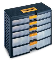 ORGANIZER-BOX  5 SCHUBLADEN