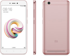 Redmi 5A Dual SIM 16GB  Rose Gold