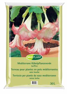 Terreau pour plantes méditerranéennes en pot, 30 l