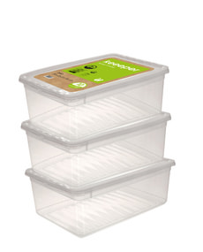 Set 3x Clearbox 11L