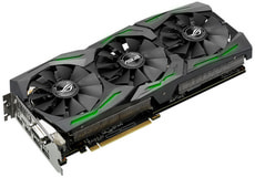 GeForce GTX1060 STRIX O6G