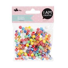 KIDS BEADS MIX BLEU