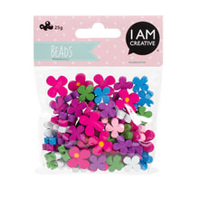 KIDS BEADS MIX,HOLZ