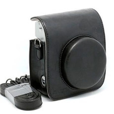 Instax Mini 90 Leather Case Black
