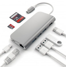 USB-C Aluminium Multiport Adapter