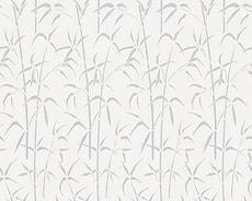 Feuilles adhérentes de fenêtre statiques Bamboo