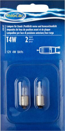 Ampoule T4W,  feu de position/stationnement
