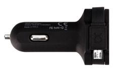 Car Charger 6A micro USB Schwarz