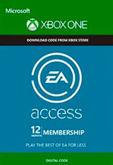Xbox One - EA Access: 12 Month Subscription