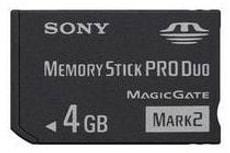 MemoryStick PRO Duo 4GB