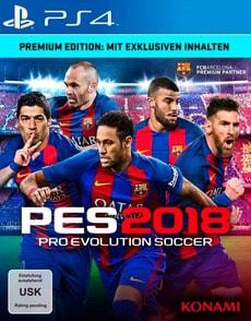 PS4 - PES 2018 - Pro Evolution Soccer 2018 Premium Ed.