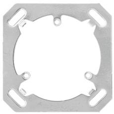 Montageplatte 1-fach, 3x