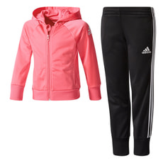 LITTLE GIRLS KNITTED TRACKSUIT