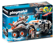 Playmobil Spy Team Battle Truck