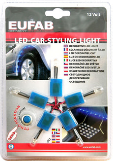 Led-Car-Styling-Light bleu