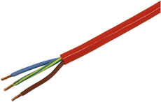 PVC-Baustellenleitung 3x1.5 (N07V3V3-F)