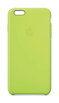 Silicon Case iPhone 6 Plus Green