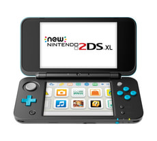 NEW 2DS XL Nero Turchese