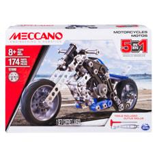 Meccano Set 5 modelli - Motociclette
