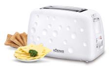 Koenig Toaster Moon, weiss