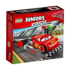 LEGO Juniors Lightning McQueens Beschleunigungsrampe 10730