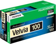 Velvia 100 120 5-Pack