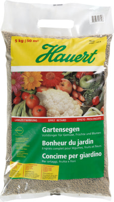 Concime per giardino, 5 kg